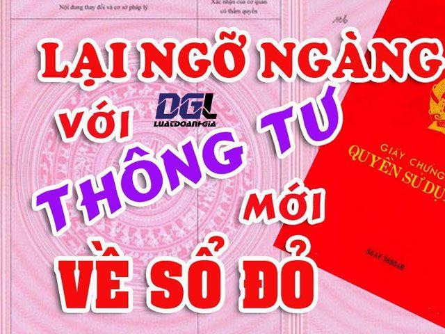 Cấp sổ đỏ tại UBND các quận huyện của Hà Nội