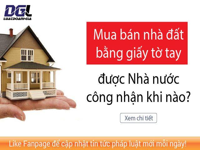 Giải quyết vướng mắc khi mua nhà trước năm 2010 - 0904779997